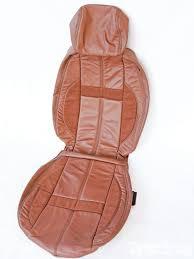 kazkin amaretto leather seat cover
