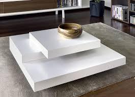 Modern Square Coffee Table White Home Design Ideas