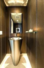 small pedestal sinks for powder room powder room decoration modern design ideas neutral colors pedestal sink small pedestal sinks for powder room