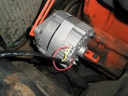 1952 chevy 6 v to 12 v conversion 1949 1954 the h a m b figure 7 installed and wired alternator