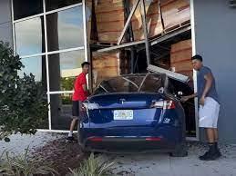 Video Shows Tesla Model Y Driver Crash ...