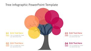 Template Tree Tree Infographic Powerpoint Template
