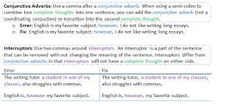 When Do I Use A Comma When Do I Use Commas Cwi