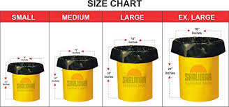 garbage bag sizes. Contemporary Sizes Shalimar Premium Garbage Bags Large Size 60 Cm X 81 6 Rolls 90 Bags Trash  Bag Dustbin Bag Amazonin Health U0026 Personal Care With Bag Sizes