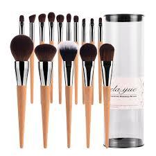 dels about vela yue pro makeup brushes set super soft free vegan brushes collection