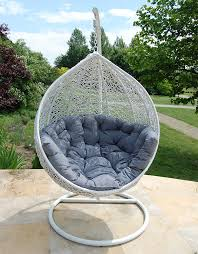 Cocoon Swing Chair White1