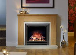 cotsmore in natural oak timber fireplace electric suite by elgin and hall