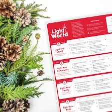 2018 Light The World Calendar Light The World 2018 Plum Street Collective