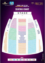 Seating Chart For Ovens Auditorium In Charlotte