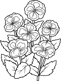 Pics Flower Coloring Page | Flower Coloring pages of ...