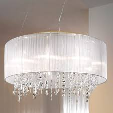 crystal chandelier with drum shade. Top 47 Preeminent Crystal Chandelier With Sheer Drum Shade Most Decorative Best Home Decor Inspirations And Shades Ideas On Category Chandeliers Large U