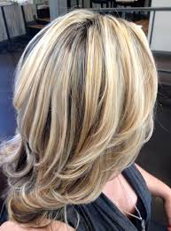 blonde highlights for grey hair