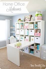 ikea office makeover. Ikea Expedit Workstation GREAT For Storage - We Used This In The Kids Room Case You Don\u0027t Have Enough Bookshelves? Office Makeover