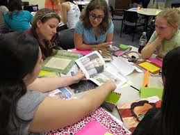 "report five florida teacher training programs are ""substandard  university of central florida elementary education students discuss how to incorporate books maps magazines"