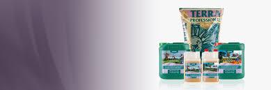 Canna Terra Nutrients Product Line Canna Gardening Usa
