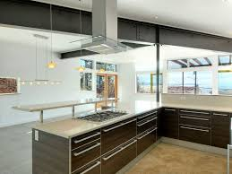 Concrete Floors Kitchen Modern Kitchen With Chandelier European Cabinets In Kirkland Wa