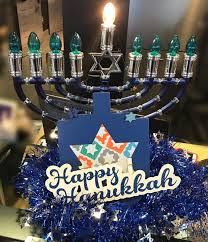 we wish everyone starting their celebration a very happy hanukkah today we light the candle on the first day of the festival of lights