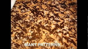 Paint Kitchen Countertops To Look Like Granite Painted Countertops That Look Like Granite Youtube
