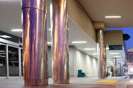 plasterform gfrc column covers pittcon polished stainless steel column covers