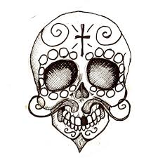 Small Picture Pancho Day of the Dead coloring page Crafts Clip art and Hello