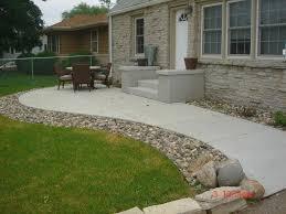 Chic Concrete Patio Designs Layouts Download Backyard Concrete Patio