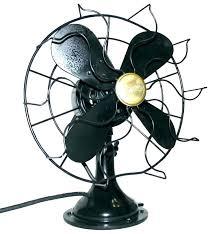 ac antique table fan vine metal fans old i desk