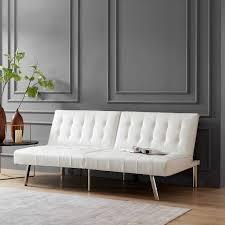 tufted split back futon sofa ojmerce