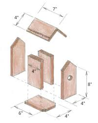 Birdhouse Patterns Stunning Free Birdhouse Plans