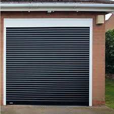 compact garage doors compact with full hood and colour finish aluminium roller door insulated genie garage