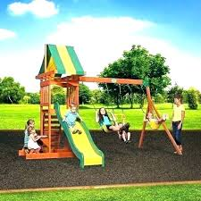 best outdoor playsets for toddlers plastic slides playground
