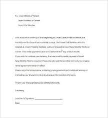 Rent Notice Letter 6 Tenancy Notice Templates Pdf Doc Free Premium