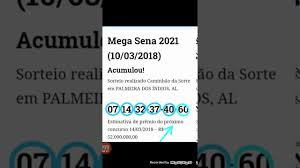 MEGA-SENA 2021 - YouTube