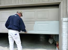 how much to paint a garage door painting garage door paint your garage door black