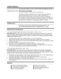 Industrial Maintenance Technician Resume Sample Mechanic Example