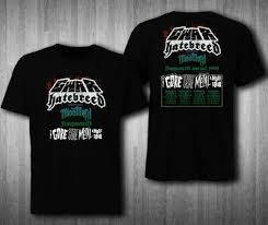 New Hatebreed Miss May I Tour 2018 Black T Shirt Dmaski