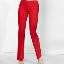 Express Editor Pants Size Chart Express Editor Pants Red