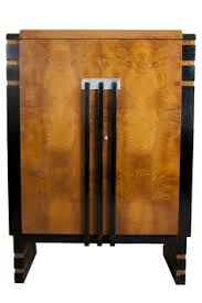 room deco furniture. Donald Deskey Art Deco Walnut Burl China Cabinet For Hastings Table Company Room Furniture