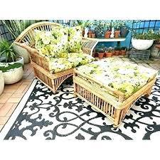 6 x 9 outdoor rug fab habitat outdoor g indoor recycled plastic cream black 6 x