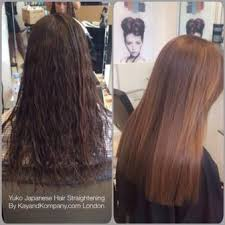 yuko anese hair straightening in london before and after