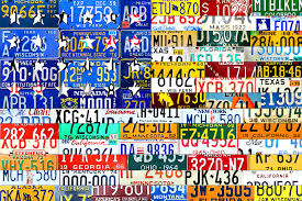50 states wall art mixed media american flag scrap metal recycled license plate art on license plate wall art all 50 states with 50 states art fine art america