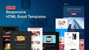 Free Newsletter Layouts 99 Free Responsive Html Email Templates To Grab In 2020