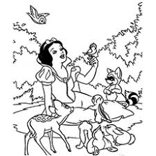 Small Picture Top 20 Free Printable Snow White Coloring Pages Online