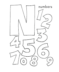 letter n coloring page pages learn sheets free
