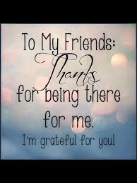 Thank You For Support Sayings Friendship Quotes Friend Birthday