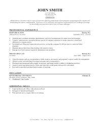 Project Manager Resume Template For Word Technical Templates