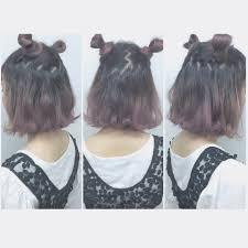 猫耳ヘアで映える髪型にナチュラルな猫耳ヘアアレンジ集やり方
