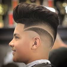 go djdgaf and the point fade new haircut for men pompadour