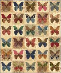 Butterflies quilt pattern by Laundry Basket Quilts   quilts I like ... & Butterflies is an applique pattern for a x throw or wall hanging quilt  designed by Edyta Sitar of Laundry Basket Quilts. We include Edyta's  stencil with the ... Adamdwight.com