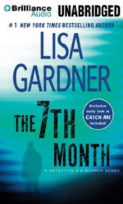 detective d d warren book series the 7th month lisa gardner out of stock 6 catch me book