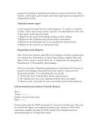 Memo Report Sample Report In Memo Format Andone Brianstern Co